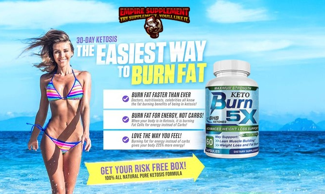 Keto Burn 5X: Is It Scam Or Work? ! Kylie Jenner Keto Reviews, Benefits, Side Effects, Price!